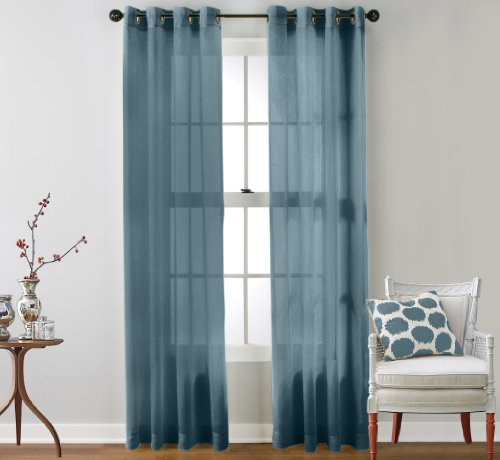 Curtain panels with grommets 2