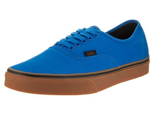 bdfed104d4 Vans Authentic Gumsole Imperial Blue Black Men s Skate Shoes Size 10.5