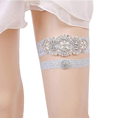 f1b6209eaed Kalolary -Wedding Garter One size fits most women and girls